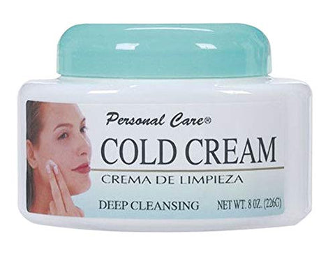 Cold Facial Cream Daily Face Wash Cleanser Makeup Remover Soft Smooth Skin (2-Pack)