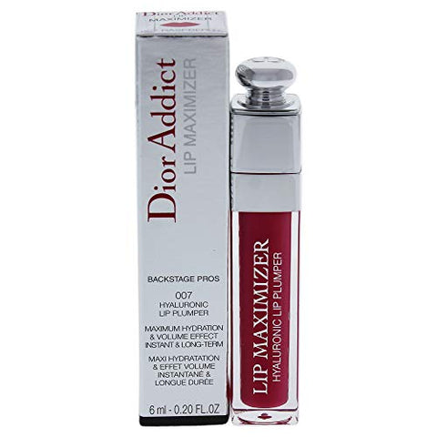 Dior Dior Addict Lip Maximizer, 007 Raspberry, clean , 0.20 Fl Oz