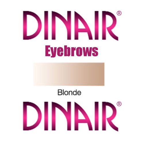 DINAIR AIRBRUSH MAKEUP EYEBROWS and EYE LINER - 1 Bottle BLONDE .25oz.