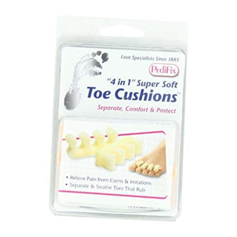 PediFix Toe Cushions One Size Fits Most 2 Each