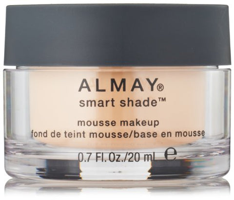 Almay Smart Shade Mousse Makeup, Light, 0.7 Fluid Ounce