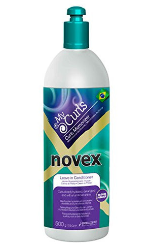 Novex Hair Care My Curls Memorizer Leave in Conditioner, 17.6 oz.