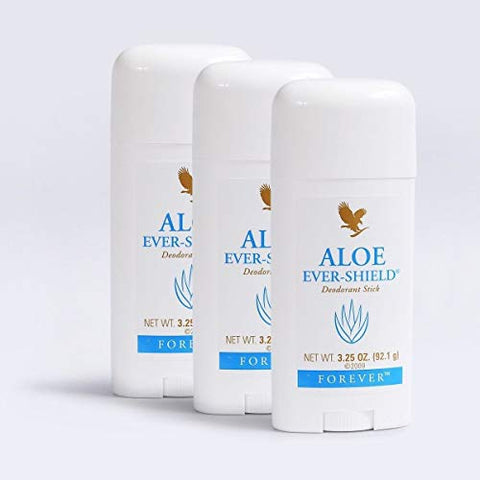 Forever Living Aloe Ever Shield Deodorant, 3 pack (3 x 3.25 oz)
