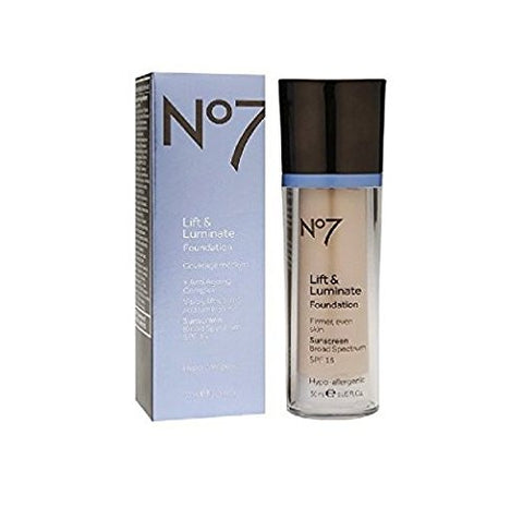 No7 Lift & Luminate Foundation Warm Beige By No7