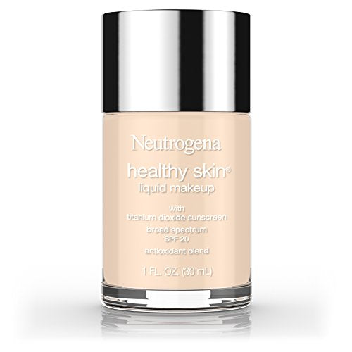 Neutrogena Healthy Skin Liquid Makeup Foundation, Broad Spectrum Spf 20 Sunscreen, Lightweight & Fla