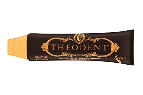 Theodent Classic With Rennouã'â®: Whitening Crystal Mint   Fluoride Free Toothpaste Rebuilds, Harden
