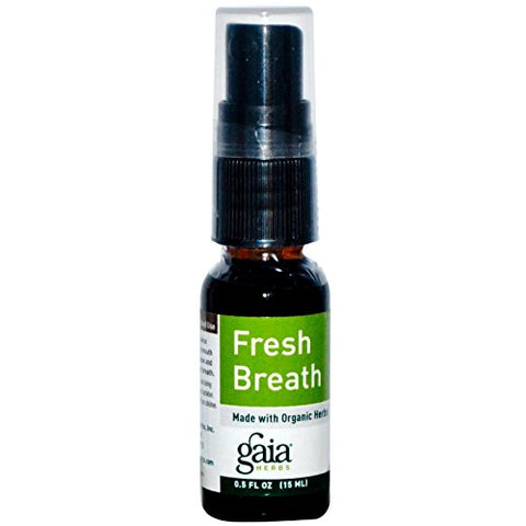 Gaia Herbs, Fresh Breath Spray, 0.5 Fl Oz