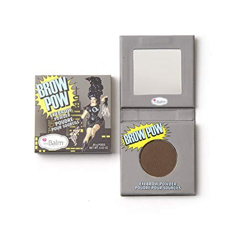 The Balm Brow Pow Eyebrow Powder, Dark Brown