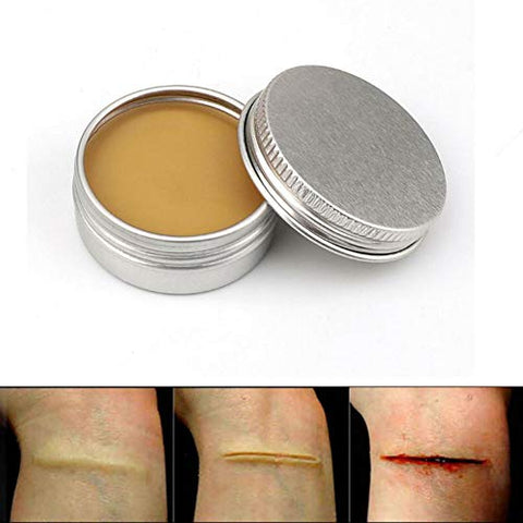 Ofanyia Makeup Wax For Fake Wound Scar Special Effects Body Paint Skin Wax For Stage Makeup Theatrical Makeup Halloween Party Makeup