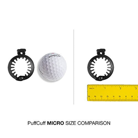 PuffCuff Micro 1.5 INCH Hair Clamp (Pkg of 5)
