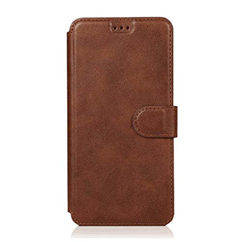 Shockproof Leather Flip Case for iPhone 7, Business Wallet Cover Compatible with iPhone 7 Smartphone