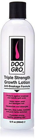 DOO GRO Triple Strength Anti-Breakage Growth Lotion, 12 oz (Pack of 2)