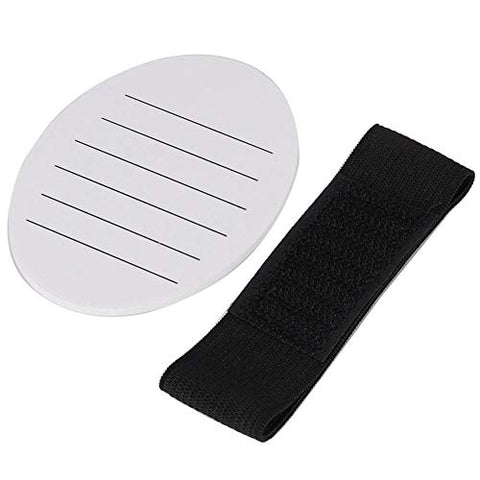 Eyelash Pallet-Eyelash Plate Professional Acrylic Hand-held False Eyelash Plate Pallet Lash Extension Holder(White)