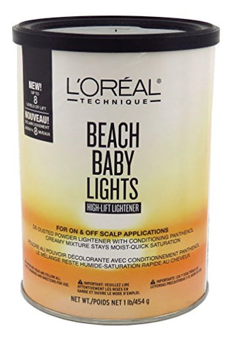 Loreal Beach Baby Lights High-Lift Lightener 1Lb Jar