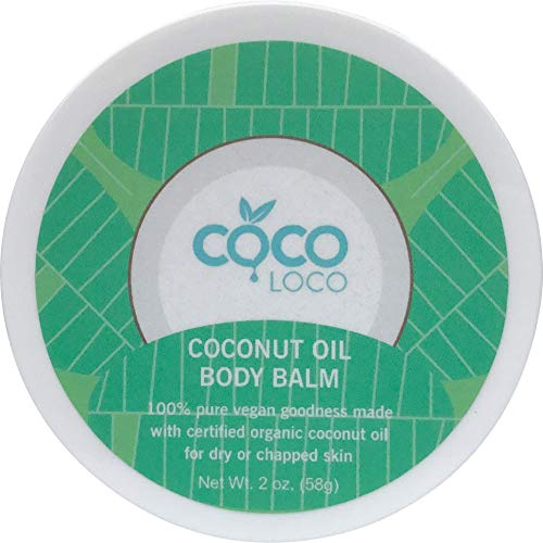 Coco Loco   Coconut Oil Body Balm â?? Pure, Vegan, Total Body Balm Helps Dry, Sensitive And Chapped