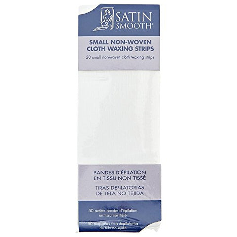 Satin Smooth Small Non-Woven Strips