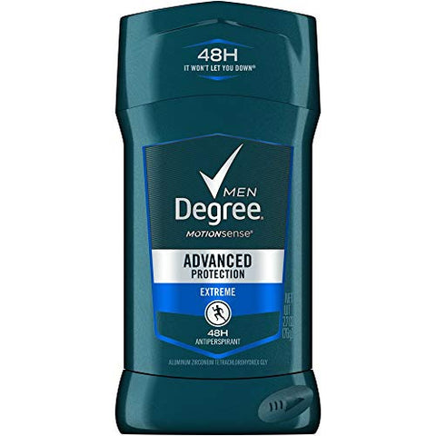 Degree Extreme Advanced Protection Antiperspirant Deodorant Stick, 2.7 oz (Pack of 18)
