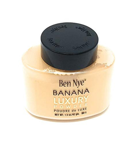Ben Nye Authentic Luxury Banana Powder Bottle Face Makeup Kim Kardashian, 1.5 oz.
