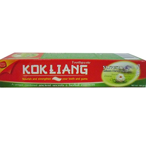 Kokliang Toothpaste Natural Chinese Herbal Extract Net Wt 160g (5.64 oz) x 2 tubes