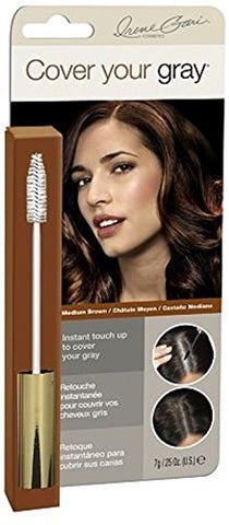 Cover Your Gray Brush In Medium Brown, 0.25 oz (Pack of 4)