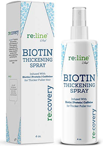 Biotin Hair Thickening Spray for Thin Hair Texturizing Spray Hair Loss Prevention Thinning Hair Thickening Tonic for Fine Hair Thick Hair Growth Products for Men for Women
