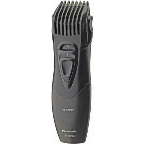 Panasonic Wet/Dry Hair and Beard Trimmer with Quick Set 5 Position Guide and High Performance Blades