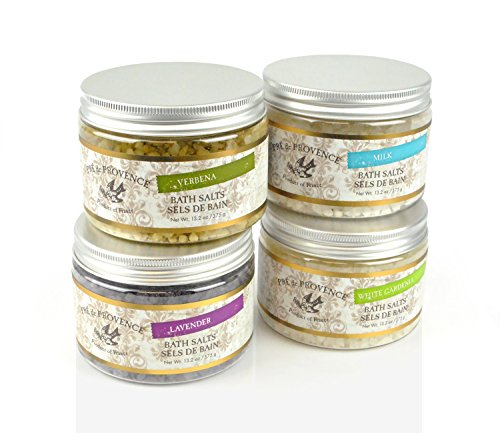 Pre De Provence Muscle Soothing, Mind Relaxing, Mediterranean Bath Salts - Verbena