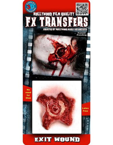 Tinsley Transfers Exit Wound Temporary 3-D Tattoo Kit Standard