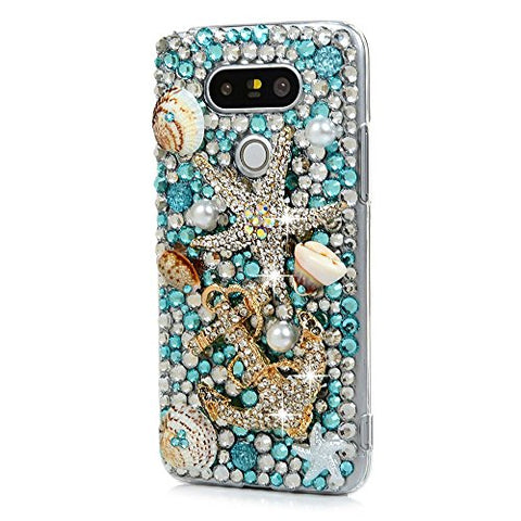 STENES Sparkly Statfish Shell Anchor Case For Huawei Mate 10 Pro - Novy Blue