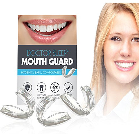 Mouth Guard For Grinding Teeth â?? Night Guard For Clenching   Eliminates Tmj And Bruxism! Includes