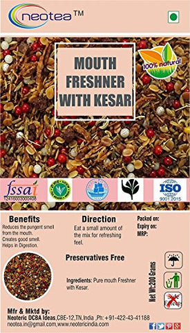 Neotea Mouth Freshener, Kesar Mix - 200g
