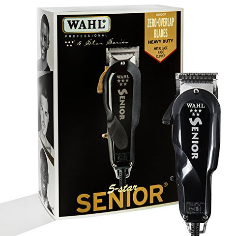Wahl Professional 5 Star Senior Clipper For On Scalp Tapering And Fading, Precision Fades, And Clipp