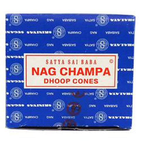 Sai Baba Nag Champa Incense Cones 12 Incense