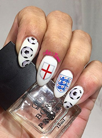United Kingdom U.K Collection (England ST George Nail Decals Art)