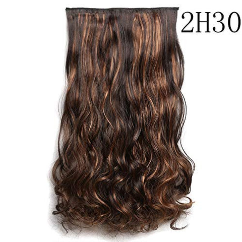 Wig Card Hair Five Clip Rolled Hair Piece Thickened Lifelike