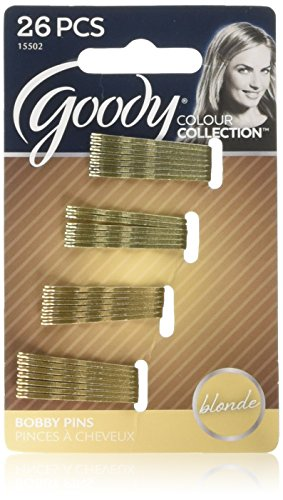 Goody Colour Collection (Small Metallic Bobby Slide), (Blonde 26 each)