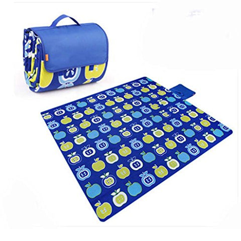 Extra Large Picnic Blanket with Water Resistant Outdoor Mat 79 * 79 inch