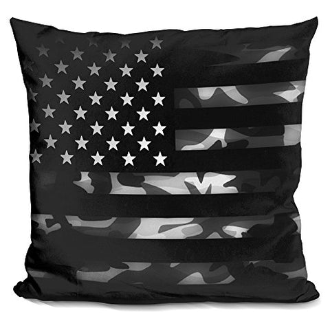 LiLiPi American Camouflage Decorative Accent Throw Pillow