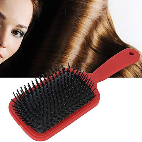 Hair Brush, Relief Stress Relax Hair Massage Brush, Scalp Massage Comb for Wet/dry Hair Smoothing Massaging Detangling, Everyday Brush Enhance Shine and Health(granate)