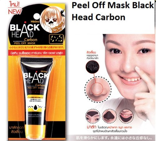 Mistine Blackhead Black Head Carbon Peel Off Face Mask