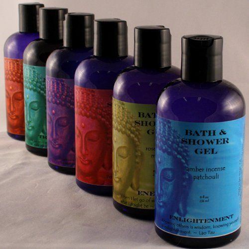 8 oz Buddhalicious Organic Bubble Bath & Shower Gel Vigor