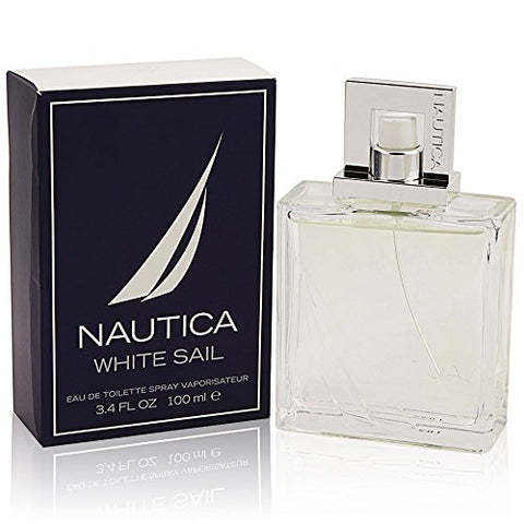 Nautica White Sail for Men by Nautica 3.4oz 100ml EDT Spray