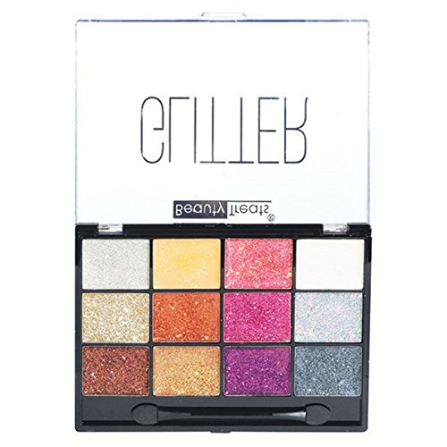 (3 Pack) BEAUTY TREATS Sparkle Glitter Palette 2