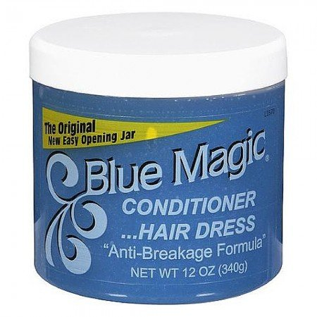 Blue Magic Conditioner Hair Dress Original 12 oz (Pack of 4)