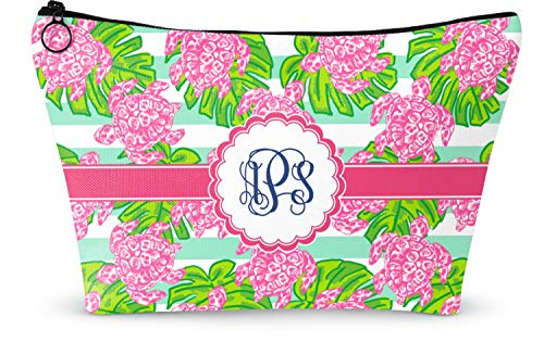"Preppy Makeup Bag - Large - 12.5""x7"" (Personalized)"