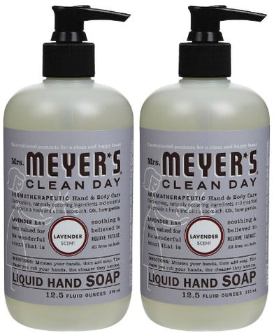 Liquid Hand Soap, Lavender, 12.5 oz, 2 pk