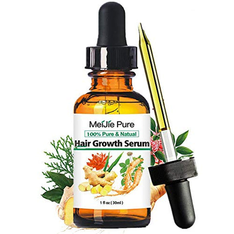 Hair Growth Serum,2021 Hair Growth Treatment,Hair Serum,Anti Hair Loss, Thinning, Balding, Repairs Hair Follicles, Promotes Thicker, Stronger Hair , And Promotes Hair Regrowth