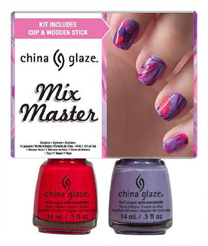 China Glaze Mix Master Nail Lacquers Kit, 2 Ounce