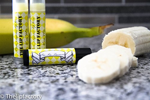 Organic Banana Lip Balm (Clear Tube)