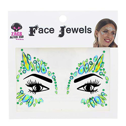 Zac's Alter Ego Crystal Stone Face Gems/Jewels - Summer Festival Body Art